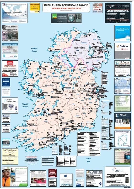 Irish Pharma Map